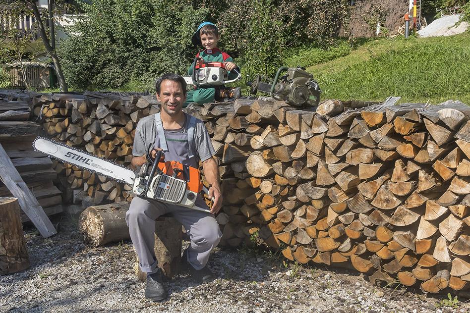 Old chainsaw collection | Turist farm ZAKRAŠNIK